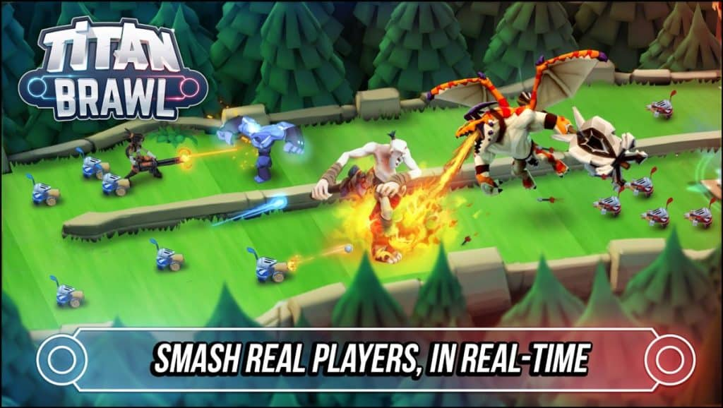 Best Mobile Strategy Games Like Clash Royale Titan Brawl
