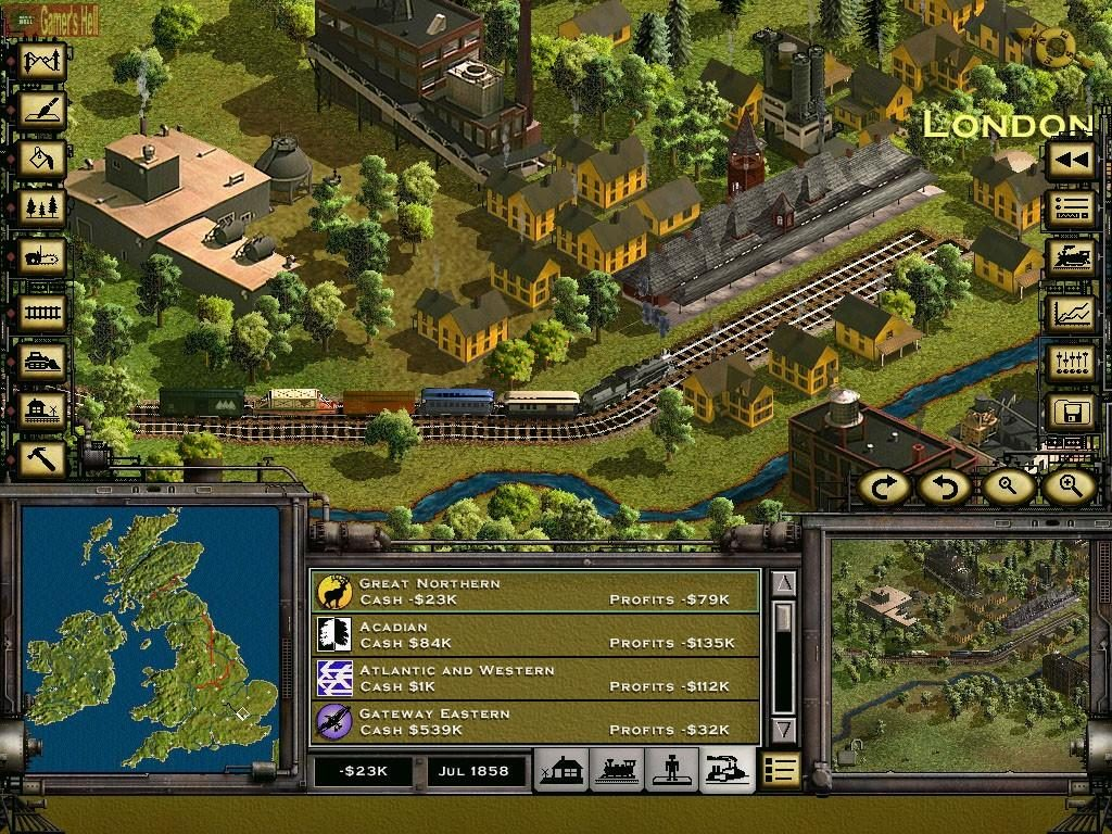 Best Tycoon Games Best Business Simulation Games Railroad Tycoon