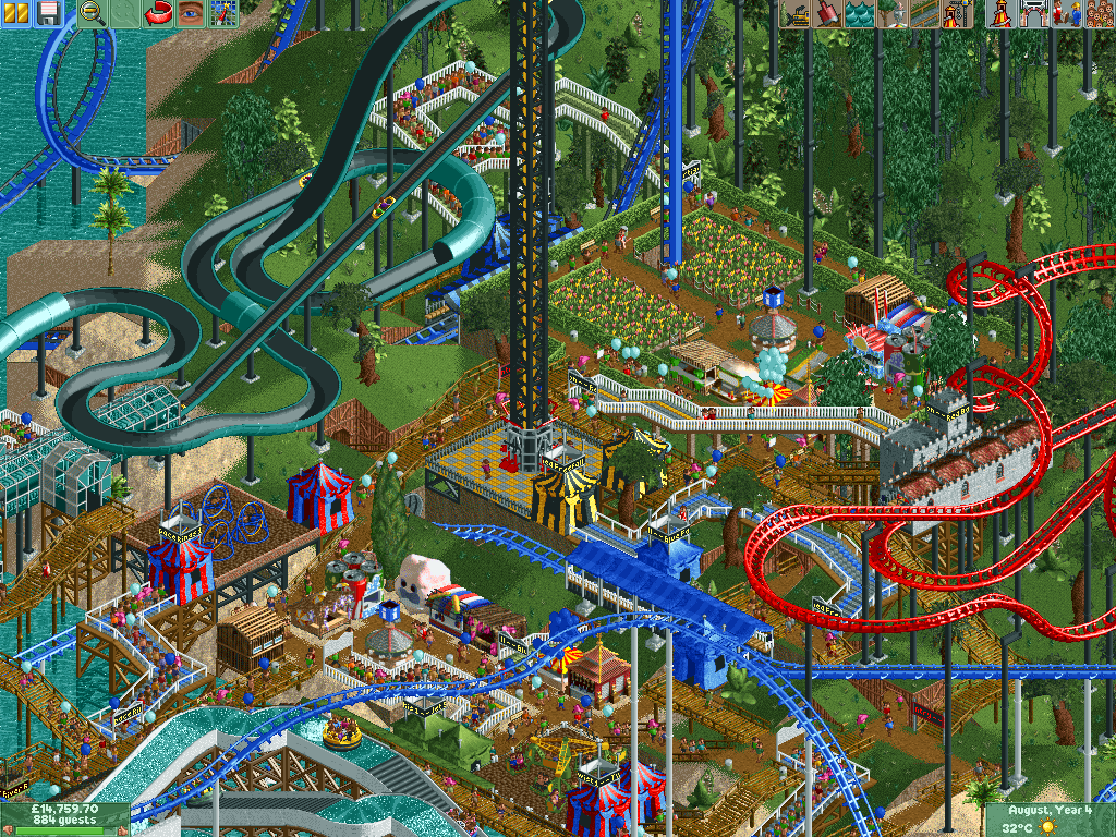 best-tycoon-games-best-business-simulation-games-rollercoaster-tycoon