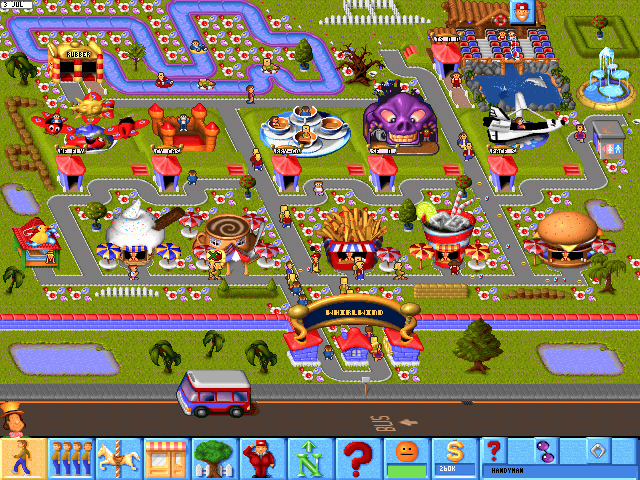 Best Tycoon Games Best Business Simulation Games Theme Park