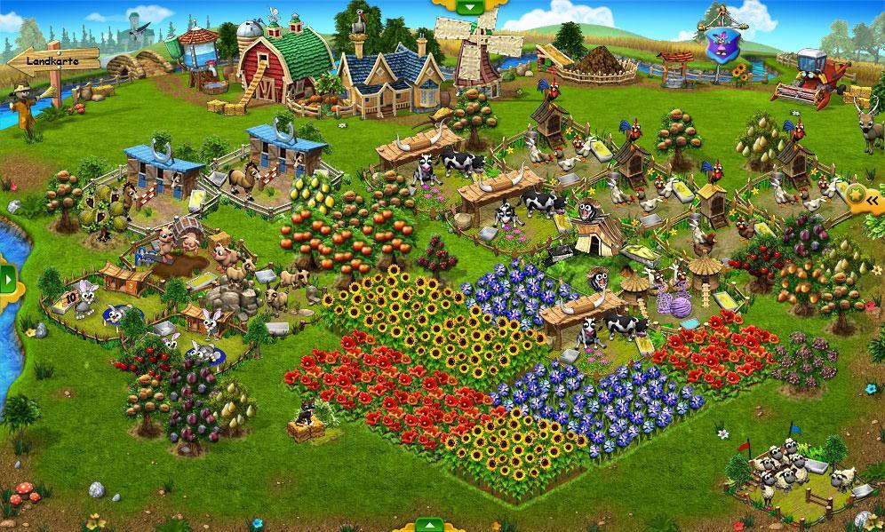 Farming Simulation Games Like Stardew Valley Farmerama