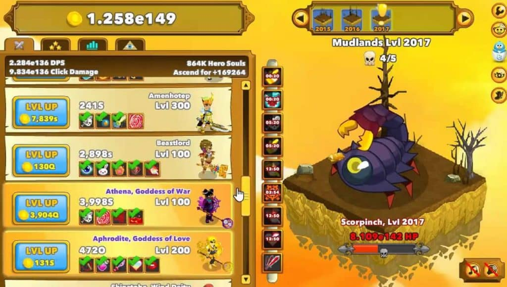 Best Idle Games Like Cookie Clicker Clicker Heroes