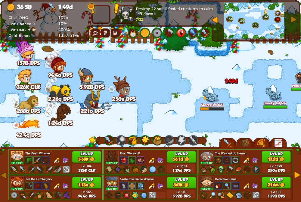 Best Idle Games Like Cookie Clicker Crusaders of the Lost Souls