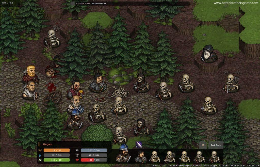 Games Like Darkest Dungeon Battle Brothers