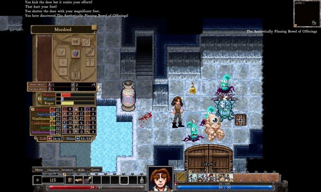 Games Like Darkest Dungeon Dungeons of Dredmor
