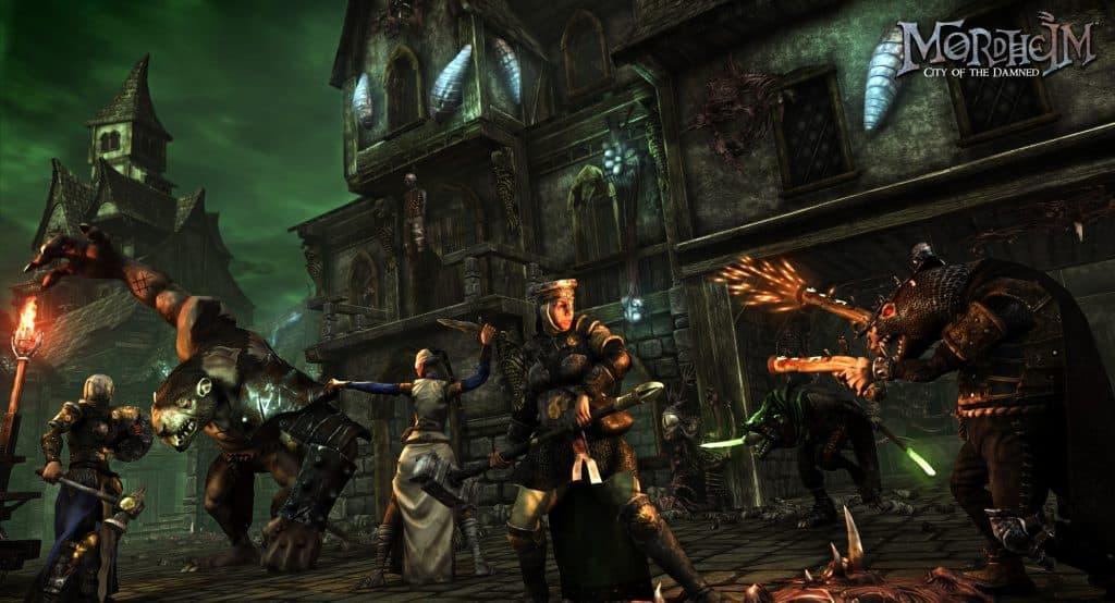 Games Like Darkest Dungeon Mordheim City of the Damnedt