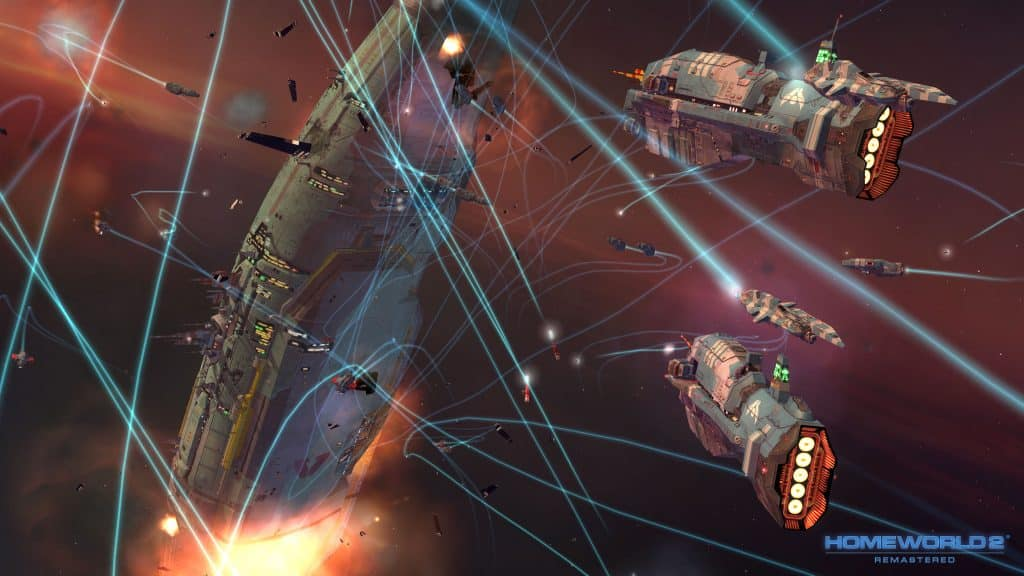 Best Space Opera Games Like Mass Effect Homeworld