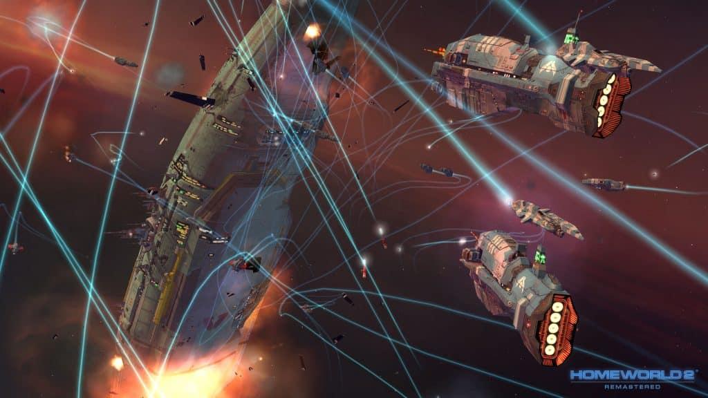 Best Space Opera Games Like Mass Effect Homeworld
