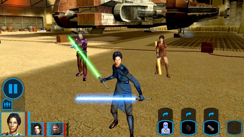 Best Space Opera Games Like Mass Effect Star Wars Knights of the Old Republic