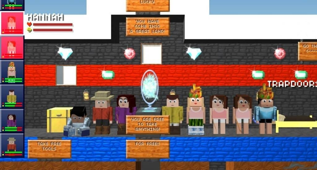 Games like Roblox The Blockheads