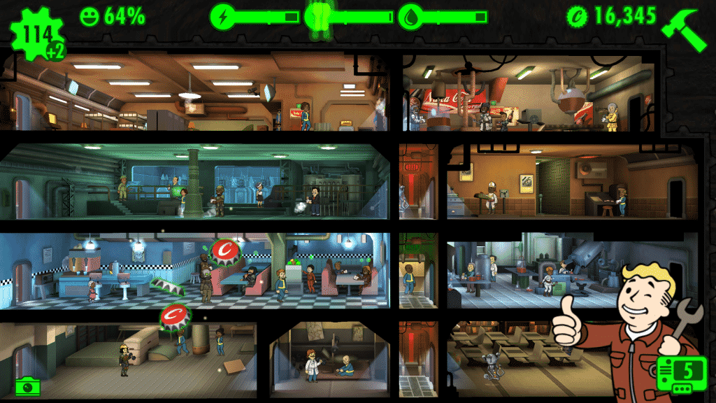 Sim Management Games Like Prison Architect Fallout Shelter