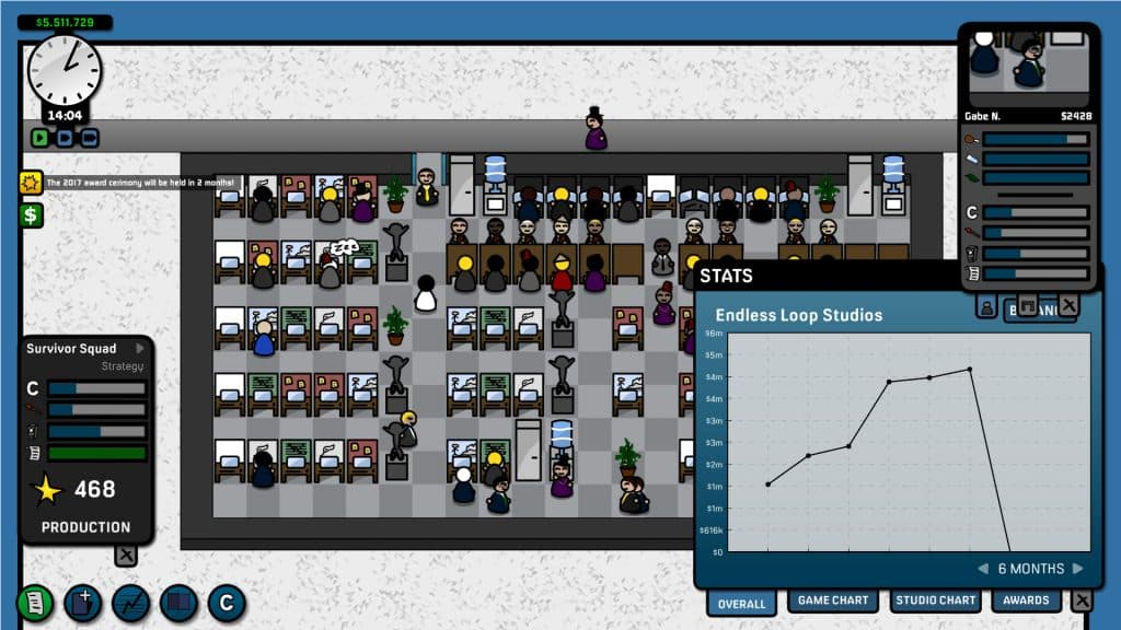 Sim Management Games Like Prison Architect Game Corp DX